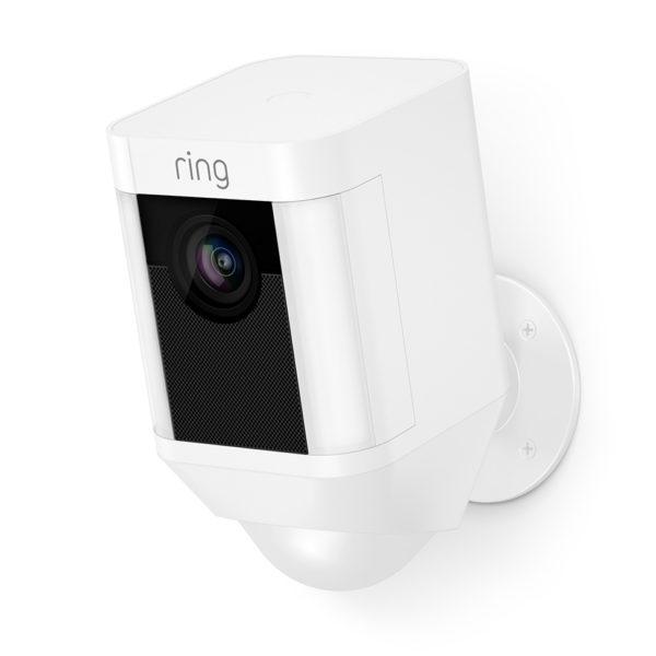 Ring Spotlight Camera Battery White