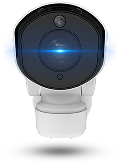 PTZ Bullet Network Camera P-Iris On