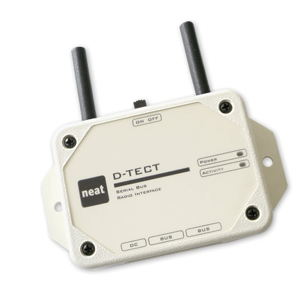 D-TECT The serial bus for D-SERVER radio components