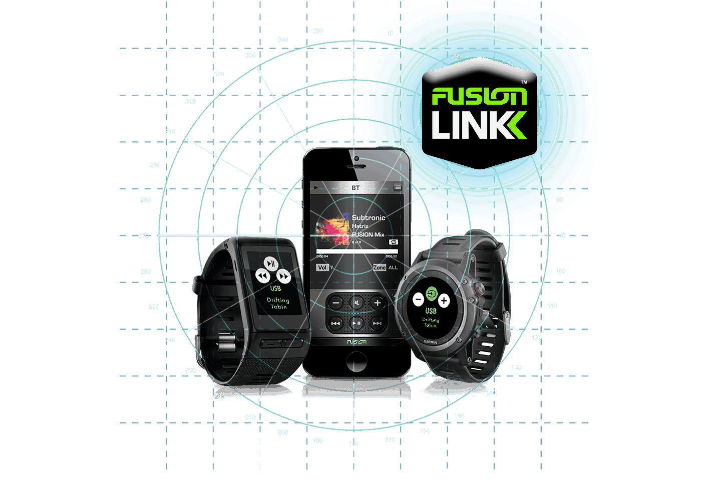 Fusion Link Wireless Phone Watch ANT