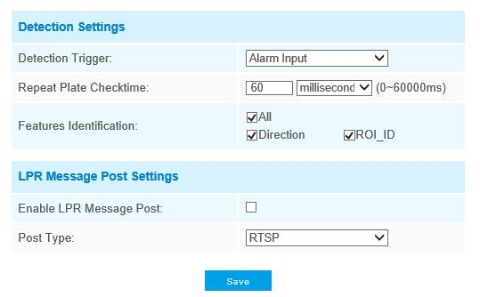 How to set LPR